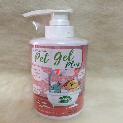TT Dầu tắm Pet Gel Plus 500ml